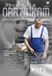 Obvestila september 2009 - Območna obrtno-podjetniška zbornica ...