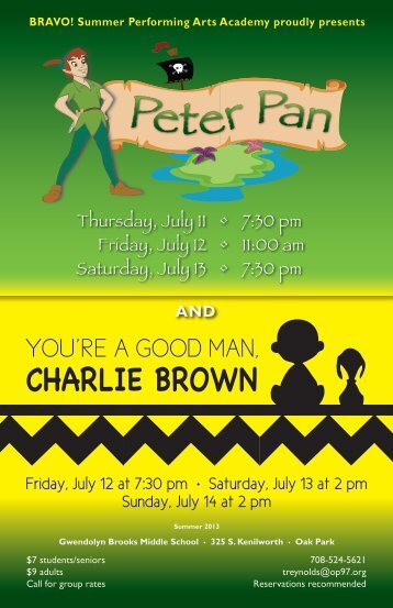 to view event posters for dates and times - Oak Park Elementary ...