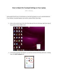 How to Adjust the Touchpad Settings on Your Laptop