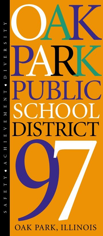 SCHOOL - Oak Park Elementary School District 97