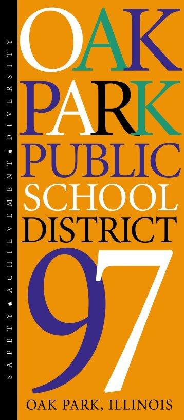 SCHOOL - Oak Park Elementary School District 97