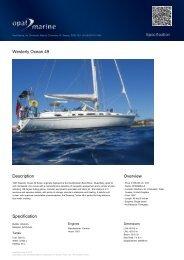 Westerly Ocean 49 - Opal Marine