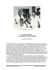 The Gospel Soul of OV Wright - Opal Louis Nations