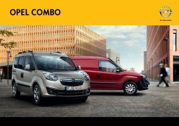 descarcati datele tehnice pentru Opel Combo - Opel Erebus