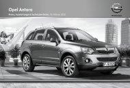 Opel Antara - Opel-Infos.de
