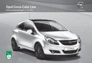 Opel Corsa Color Line - Opel-Infos.de