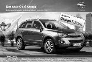 Der neue Opel Antara - Opel-Infos.de