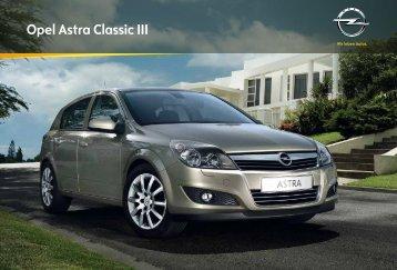 Opel Astra Classic III - Opel Erebus