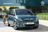 Opel Meriva - Opel-Infos.de
