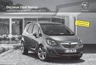 Der neue Opel Meriva - Opel-Infos.de