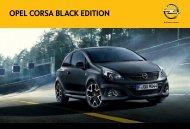 OPEL CORSA BLACK EDITION - Opel-Infos.de