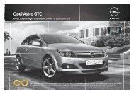 Opel Astra GTC - Opel-Infos.de