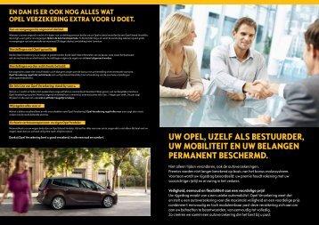 Uw Opel, Uzelf als bestUUrder, Uw mObiliteit en Uw belangen ...