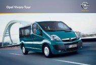 Brochure Vivaro Tour - Opel