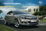 Opel Astra GTC en Break