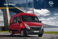 Le nouvel Opel Movano. Voyez grand