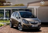 Brochure Meriva - Opel