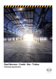 Opel Movano - Combi - Bus - Trabus