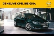 Brochure Insignia - Opel