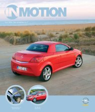 IN MOTION 17 NL.qxp - Opel