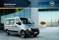 Brochure Movano Combi/Bus - Opel
