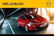 Brochure Astra GTC - Opel