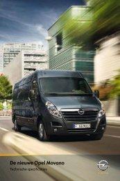 De nieuwe Opel Movano