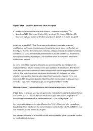 Opel Media Information