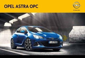 Brochure Astra OPC - Opel