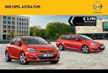 Opel Astra FUN Katalog