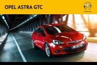 Opel Astra GTC Katalog