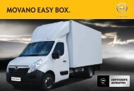 MOVANO EASY BOX. - Opel