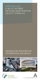 Vortragsprogramm Expo Real 2012 - Deutsche Gesellschaft für ...