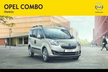 Näytä ohjekirja - Opel
