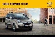 OPEL COmbO TOUR - Opel Nederland