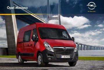 Brochure Movano Gesloten Bestel - Opel Nederland