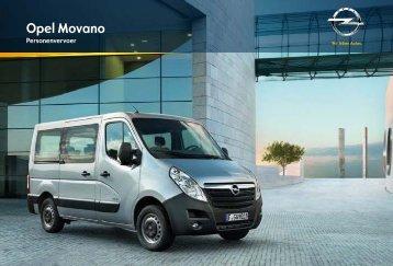 Brochure Movano Combi Bus - Opel Nederland