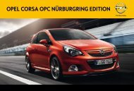 OPEL COrsa OPC NürburgriNg EditiON - Opel Nederland