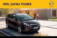 OPEL ZAFIRA TOURER - Opel Nederland