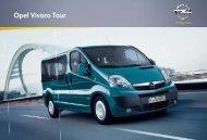 Opel Vivaro Tour - Opel Nederland