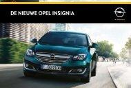 DE NIEUWE opEl INSIGNIA - Opel Nederland
