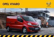 Brochure Vivaro - Opel Nederland