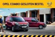 OPEL COmbO GESLOTEN bESTEL - Opel Nederland
