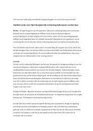 Ambitieprijs voor Opel Insignia bij verkiezing ... - Opel Nederland