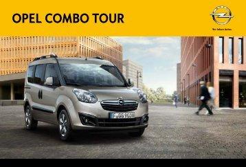 Brochure Combo Tour - Opel Nederland