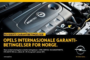 Last ned - Opel Norge