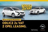 Opel Leasing: Odlicz 2x VAT z nowym programem ... - Opel Polska