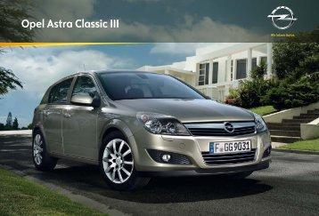 Opel Astra Classic III - Serwis Haller