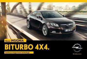 Pobierz broszurę o Insignii BiTurbo - Opel Polska