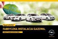 Katalog Opel LPGTEC - Opel Polska
